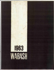 Wabash College - Wabash Yearbook (Crawfordsville, IN) online yearbook collection, 1963 Edition, Page 1