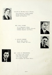 Page 16, 1937 Edition, Fort Wayne Bible College - Light Tower Yearbook (Fort Wayne, IN) online yearbook collection