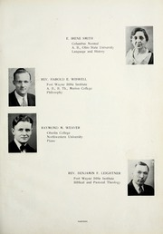 Page 17, 1937 Edition, Fort Wayne Bible College - Light Tower Yearbook (Fort Wayne, IN) online yearbook collection