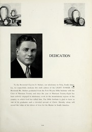 Page 9, 1937 Edition, Fort Wayne Bible College - Light Tower Yearbook (Fort Wayne, IN) online yearbook collection