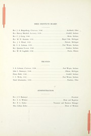 Page 14, 1938 Edition, Fort Wayne Bible College - Light Tower Yearbook (Fort Wayne, IN) online yearbook collection