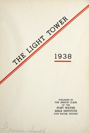 Page 7, 1938 Edition, Fort Wayne Bible College - Light Tower Yearbook (Fort Wayne, IN) online yearbook collection
