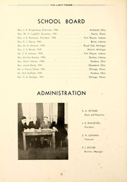Page 16, 1940 Edition, Fort Wayne Bible College - Light Tower Yearbook (Fort Wayne, IN) online yearbook collection