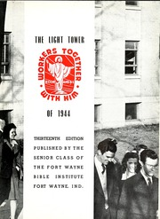 Page 7, 1944 Edition, Fort Wayne Bible College - Light Tower Yearbook (Fort Wayne, IN) online yearbook collection