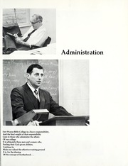 Page 13, 1971 Edition, Fort Wayne Bible College - Light Tower Yearbook (Fort Wayne, IN) online yearbook collection
