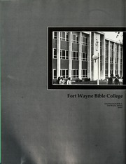 Page 6, 1971 Edition, Fort Wayne Bible College - Light Tower Yearbook (Fort Wayne, IN) online yearbook collection