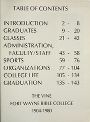 Page 5, 1980 Edition, Fort Wayne Bible College - Light Tower Yearbook (Fort Wayne, IN) online yearbook collection