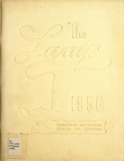 1956 Edition, Parkview Methodist School of Nursing - Lamp Yearbook (Fort Wayne, IN)