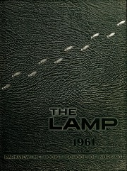 1961 Edition, Parkview Methodist School of Nursing - Lamp Yearbook (Fort Wayne, IN)