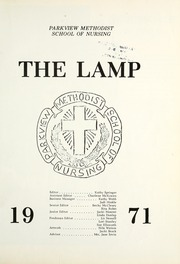 Page 5, 1971 Edition, Parkview Methodist School of Nursing - Lamp Yearbook (Fort Wayne, IN) online yearbook collection