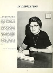 Page 6, 1971 Edition, Parkview Methodist School of Nursing - Lamp Yearbook (Fort Wayne, IN) online yearbook collection