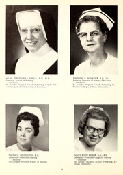 Page 14, 1968 Edition, St Joseph Hospital School of Nursing - Retrospect Yearbook (Fort Wayne, IN) online yearbook collection
