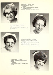 Page 15, 1968 Edition, St Joseph Hospital School of Nursing - Retrospect Yearbook (Fort Wayne, IN) online yearbook collection