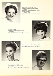 Page 16, 1969 Edition, St Joseph Hospital School of Nursing - Retrospect Yearbook (Fort Wayne, IN) online yearbook collection