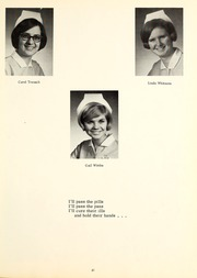 Page 55, 1969 Edition, St Joseph Hospital School of Nursing - Retrospect Yearbook (Fort Wayne, IN) online yearbook collection