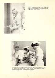 Page 64, 1969 Edition, St Joseph Hospital School of Nursing - Retrospect Yearbook (Fort Wayne, IN) online yearbook collection