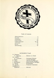 Page 7, 1969 Edition, St Joseph Hospital School of Nursing - Retrospect Yearbook (Fort Wayne, IN) online yearbook collection