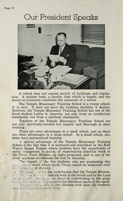 Page 12, 1947 Edition, Temple Missionary Training School - Global Yearbook (Fort Wayne, IN) online yearbook collection