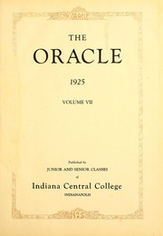 Page 7, 1925 Edition, University of Indianapolis - Oracle Yearbook (Indianapolis, IN) online yearbook collection