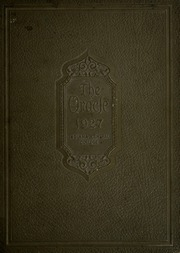 1927 Edition, University of Indianapolis - Oracle Yearbook (Indianapolis, IN)