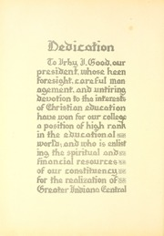 Page 10, 1928 Edition, University of Indianapolis - Oracle Yearbook (Indianapolis, IN) online yearbook collection