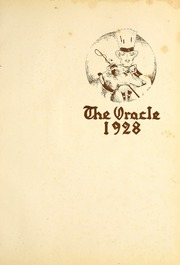 Page 5, 1928 Edition, University of Indianapolis - Oracle Yearbook (Indianapolis, IN) online yearbook collection