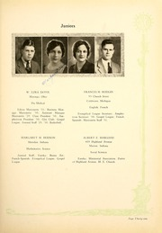 Page 35, 1931 Edition, Indiana Wesleyan University - Marionette Yearbook (Marion, IN) online yearbook collection