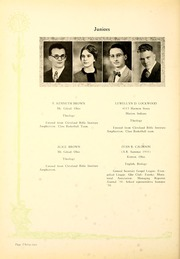 Page 36, 1931 Edition, Indiana Wesleyan University - Marionette Yearbook (Marion, IN) online yearbook collection