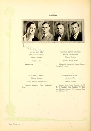 Page 38, 1931 Edition, Indiana Wesleyan University - Marionette Yearbook (Marion, IN) online yearbook collection