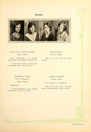 Page 47, 1931 Edition, Indiana Wesleyan University - Marionette Yearbook (Marion, IN) online yearbook collection