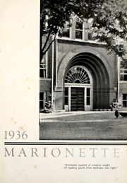 Page 7, 1936 Edition, Indiana Wesleyan University - Marionette Yearbook (Marion, IN) online yearbook collection