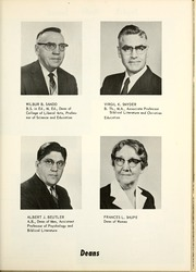 Page 15, 1960 Edition, Bethel College - Helm Yearbook (Mishawaka, IN) online yearbook collection