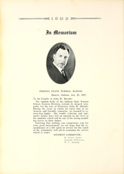 Page 16, 1922 Edition, Ball State University - Orient Yearbook (Muncie, IN) online yearbook collection