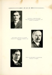 Page 17, 1922 Edition, Ball State University - Orient Yearbook (Muncie, IN) online yearbook collection