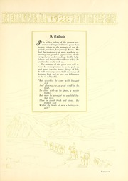 Page 11, 1928 Edition, Ball State University - Orient Yearbook (Muncie, IN) online yearbook collection