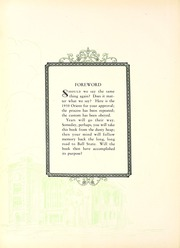 Page 10, 1930 Edition, Ball State University - Orient Yearbook (Muncie, IN) online yearbook collection