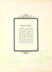 Page 8, 1930 Edition, Ball State University - Orient Yearbook (Muncie, IN) online yearbook collection