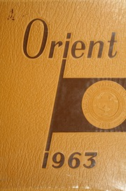 1963 Edition, Ball State University - Orient Yearbook (Muncie, IN)
