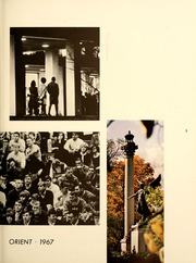 Page 7, 1967 Edition, Ball State University - Orient Yearbook (Muncie, IN) online yearbook collection