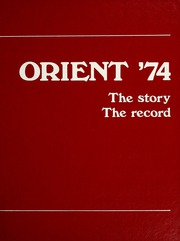 1974 Edition, Ball State University - Orient Yearbook (Muncie, IN)