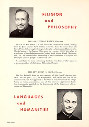 Page 12, 1948 Edition, St Josephs College - Phase Yearbook (Rensselaer, IN) online yearbook collection