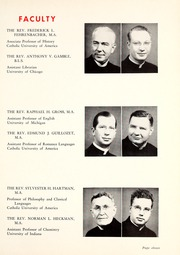 Page 15, 1948 Edition, St Josephs College - Phase Yearbook (Rensselaer, IN) online yearbook collection