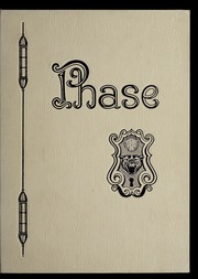 1963 Edition, St Josephs College - Phase Yearbook (Rensselaer, IN)