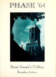 Page 5, 1964 Edition, St Josephs College - Phase Yearbook (Rensselaer, IN) online yearbook collection
