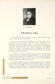 Page 14, 1933 Edition, Rose Hulman Institute of Technology - Modulus Yearbook (Terre Haute, IN) online yearbook collection