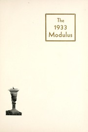 Page 5, 1933 Edition, Rose Hulman Institute of Technology - Modulus Yearbook (Terre Haute, IN) online yearbook collection
