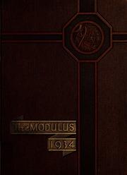 1934 Edition, Rose Hulman Institute of Technology - Modulus Yearbook (Terre Haute, IN)