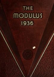 1936 Edition, Rose Hulman Institute of Technology - Modulus Yearbook (Terre Haute, IN)