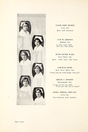Page 16, 1929 Edition, Union Hospital School of Nursing - Stethoscope Yearbook (Terre Haute, IN) online yearbook collection