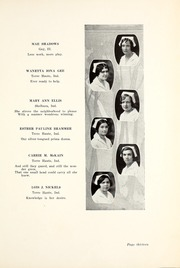 Page 17, 1929 Edition, Union Hospital School of Nursing - Stethoscope Yearbook (Terre Haute, IN) online yearbook collection